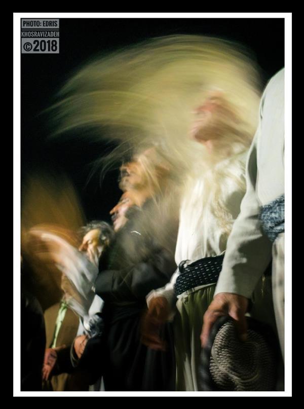 هنر عکاسی محفل عکاسی Edris Khosravizadeh ذکر دراویش سایز 50*70 کاغذ سیلک روی شاسی