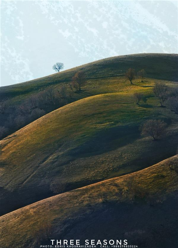 هنر عکاسی محفل عکاسی Edris Khosravizadeh نور ملایم بر بلندای کوهستان
