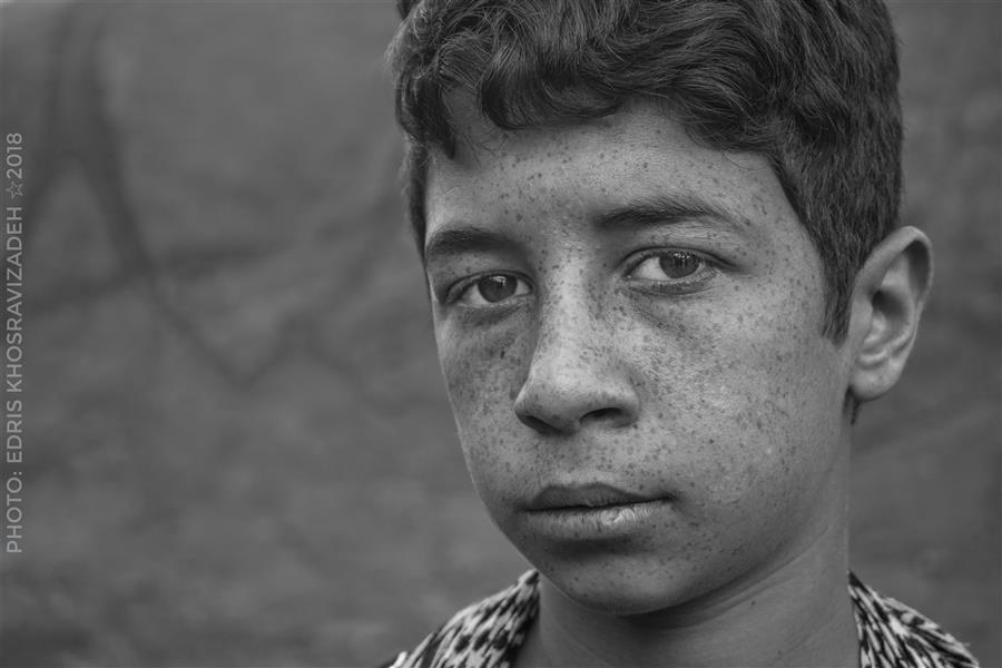 هنر عکاسی محفل عکاسی Edris Khosravizadeh پرتره
