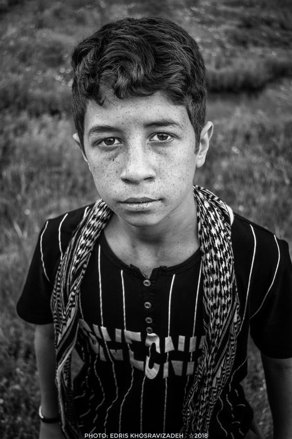 هنر عکاسی محفل عکاسی Edris Khosravizadeh #پرتره