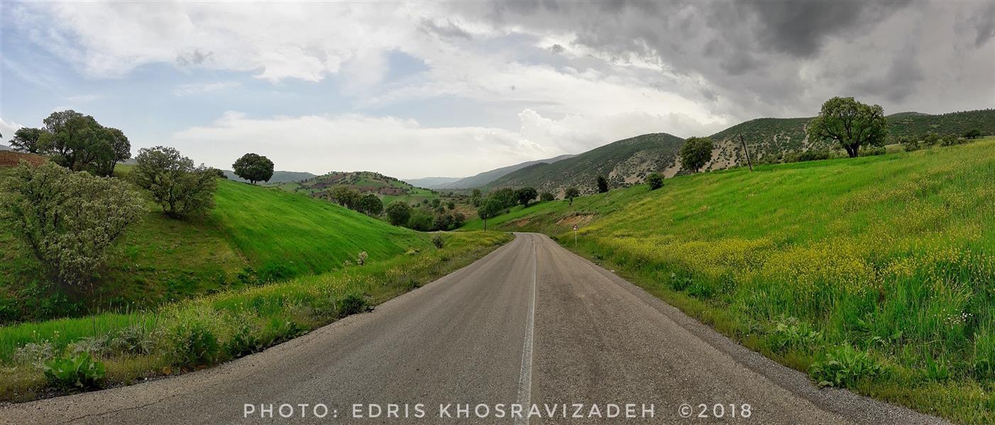 هنر عکاسی محفل عکاسی Edris Khosravizadeh جاده بهشت