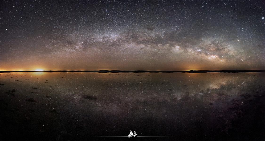 هنر عکاسی محفل عکاسی مصطفی ظفری #کهکشان راه شیری #کویر سه قلعه عکاسی پاناروما متشکل از 10 عکس سایز اصلی:130*70 cm