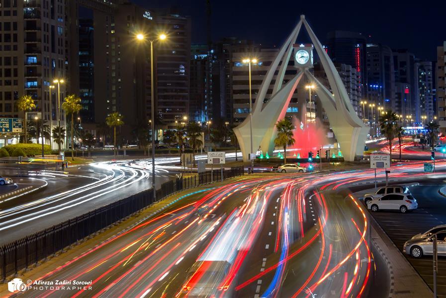 هنر عکاسی محفل عکاسی علیرضا ظهیری سروری میدان ساعت دوبی