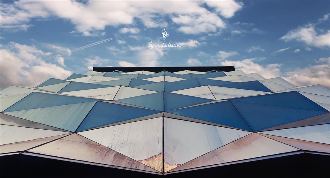 هنر عکاسی محفل عکاسی محمد دادستان عنوان: دور پرواز مکان: تهران #hdr #city #my_city #airplan #building #architecture