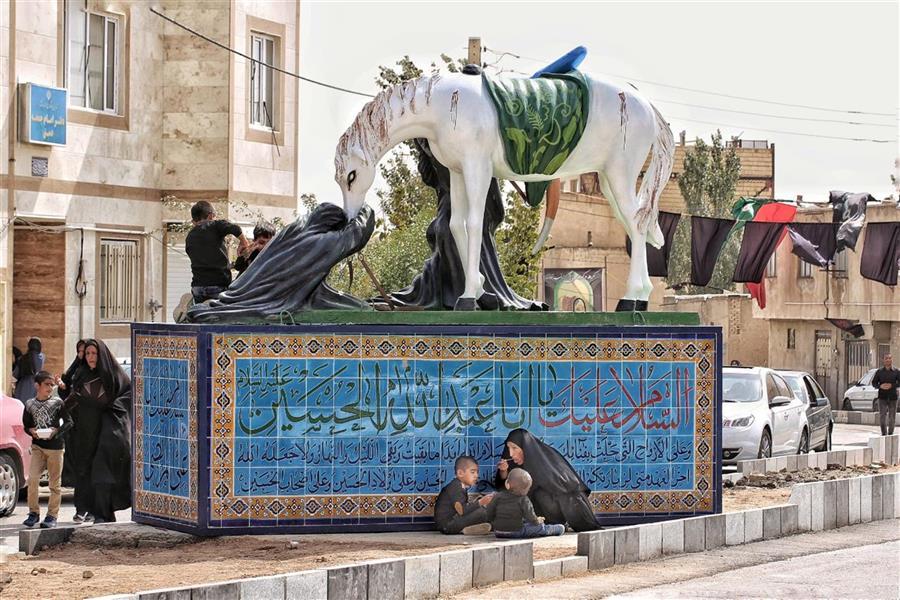 هنر عکاسی محفل عکاسی منصور رضائی زاده عاشورای حسینی در بخش دمق از توابع رزن همدان