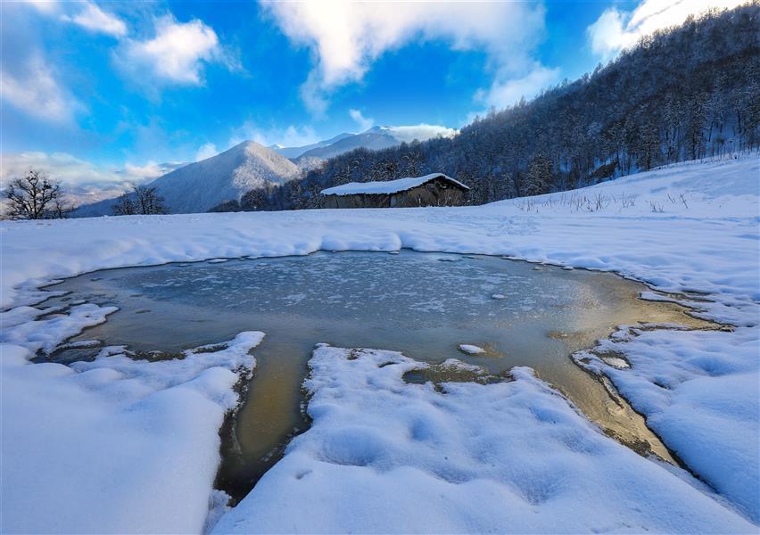 هنر عکاسی محفل عکاسی مصطفی اسدبیگی زمستان