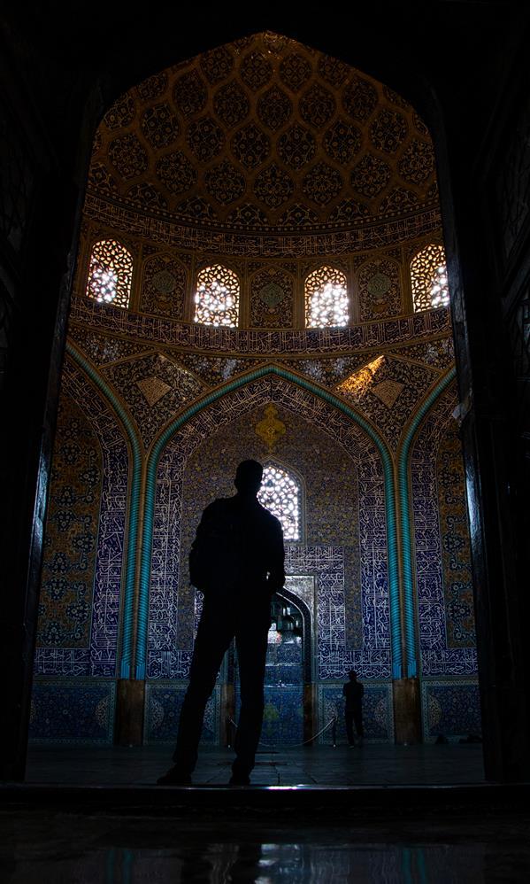 هنر عکاسی محفل عکاسی محمدرضا مردانی سامانی مسجد شیخ لطف الله