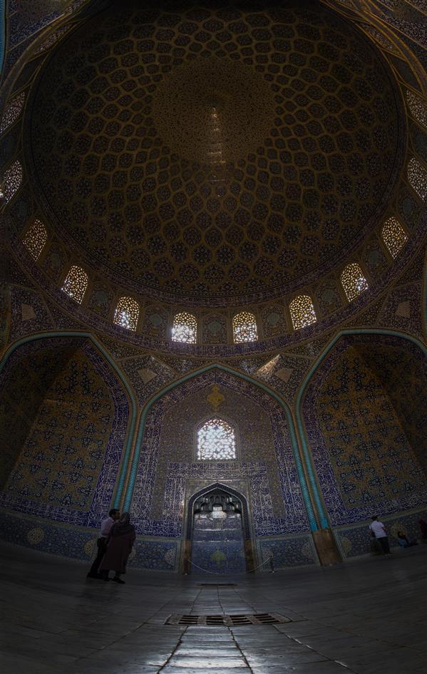 هنر عکاسی محفل عکاسی محمدرضا مردانی سامانی مسجد شیخ لطف الله اصفهان