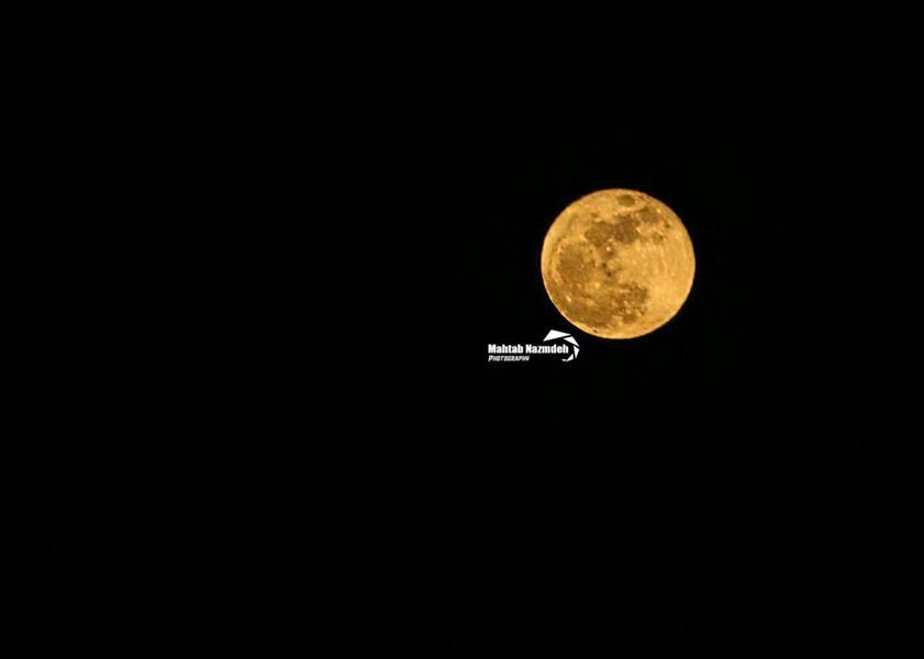 هنر عکاسی محفل عکاسی مهتاب نظمده #ماه #ماه_من #ابرماه #moon #goldmonn