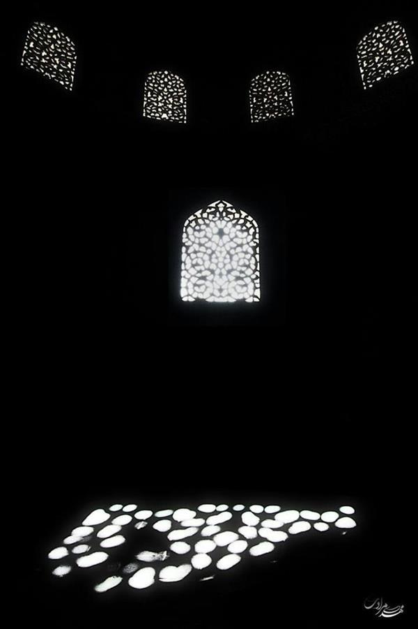 هنر عکاسی محفل عکاسی مهدی مرادی رقص نور در معماری اسلامی
