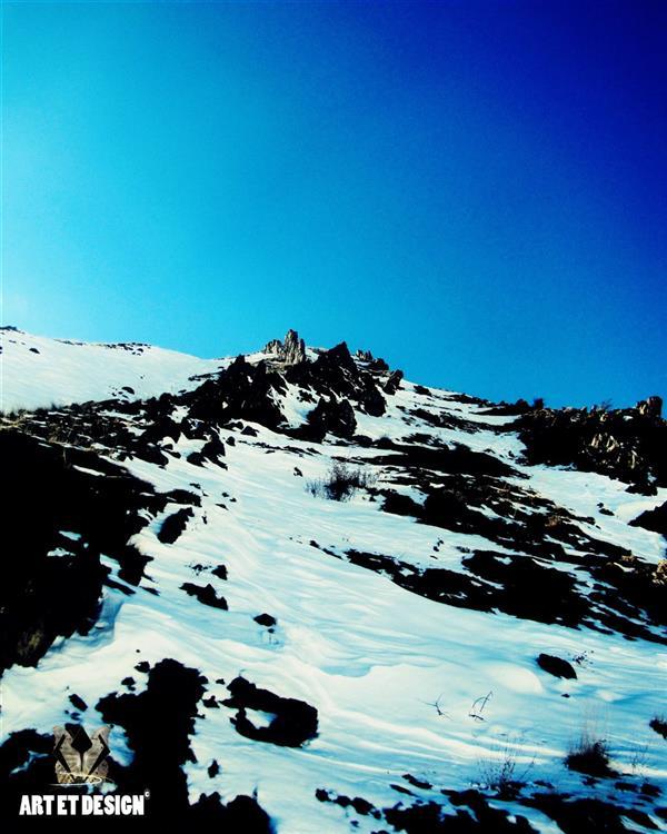 هنر عکاسی محفل عکاسی Art et design Snow Mountain