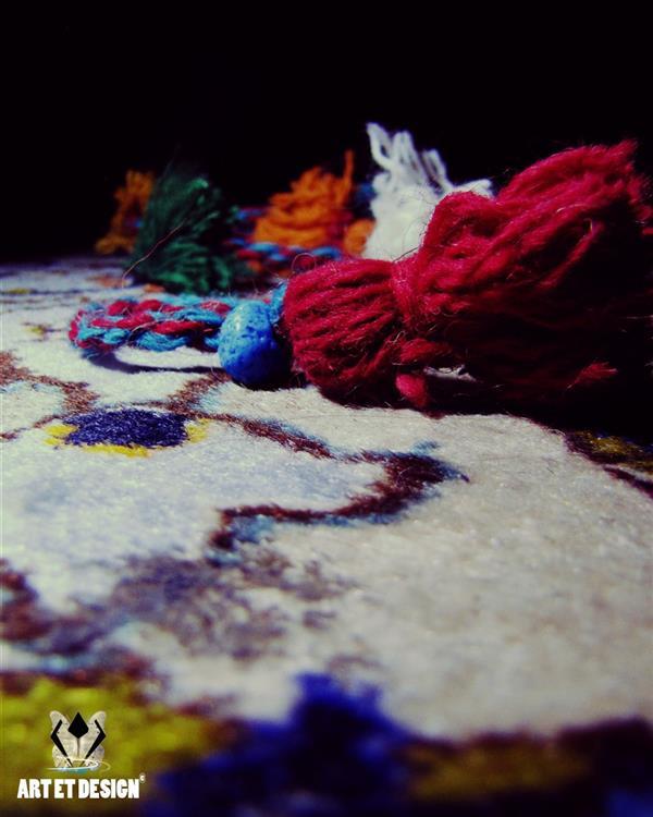 هنر عکاسی محفل عکاسی Art et design Colorful string