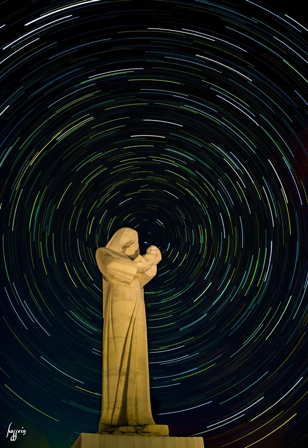هنر عکاسی محفل عکاسی حسین یزدانفر مادر آسمانی/ استار تریل 135 شات