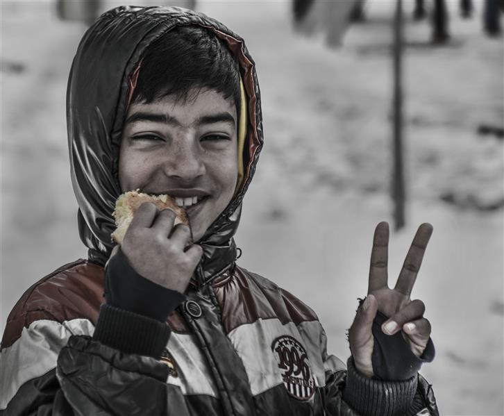 هنر عکاسی محفل عکاسی حسین یزدانفر لبخند فصل