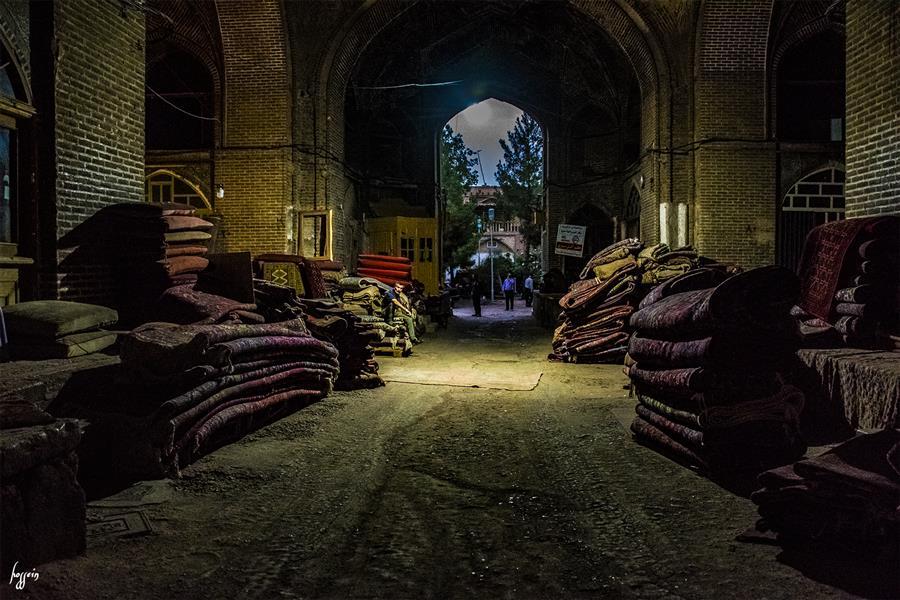 هنر عکاسی محفل عکاسی حسین یزدانفر بازار سنتی قزوین