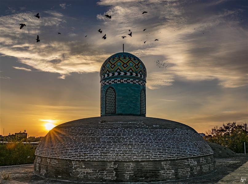 هنر عکاسی محفل عکاسی حسین یزدانفر مدرسه و مسجد سردار / قزوین