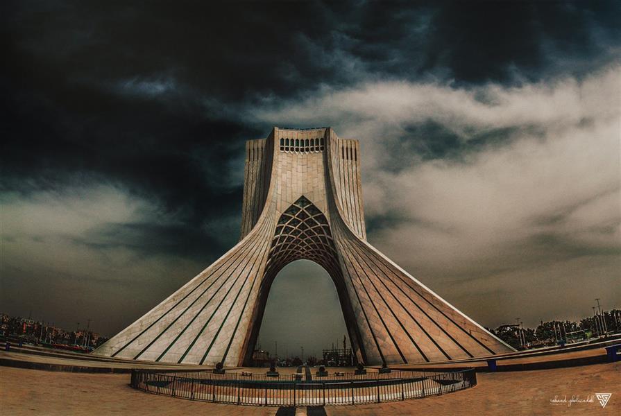 هنر عکاسی محفل عکاسی سهند قلیزاده تهران میدان آزادی