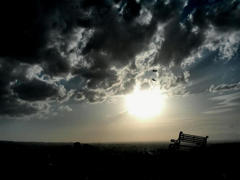 هنر عکاسی محفل عکاسی صادق رستمی تنهایی