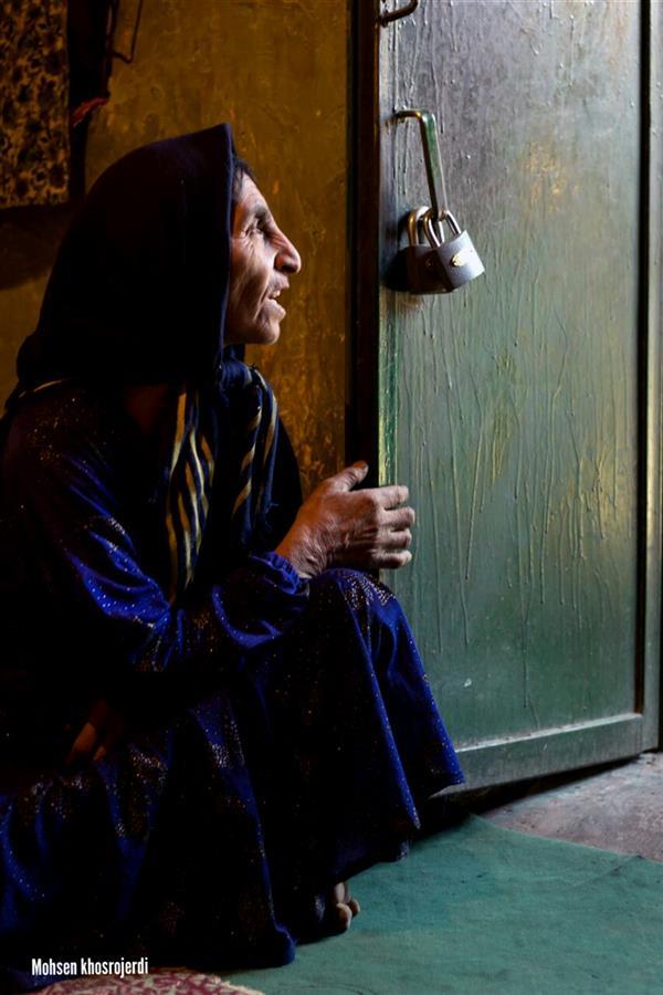 هنر عکاسی محفل عکاسی محسن خسروجردی #انتظار