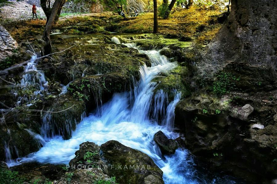 هنر عکاسی محفل عکاسی فربد کامیاب #آبشار کاهکده.منطقه لردگان