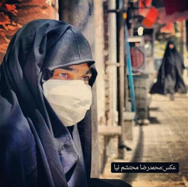 هنر عکاسی محفل عکاسی محمدرضا محتشم نیا عکس مفهومی حجاب