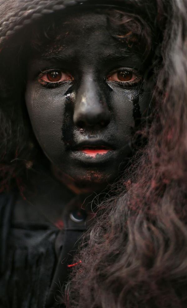 هنر عکاسی محفل عکاسی شاهین خلجی مراسم محرم کاشان #شاهین_خلجی