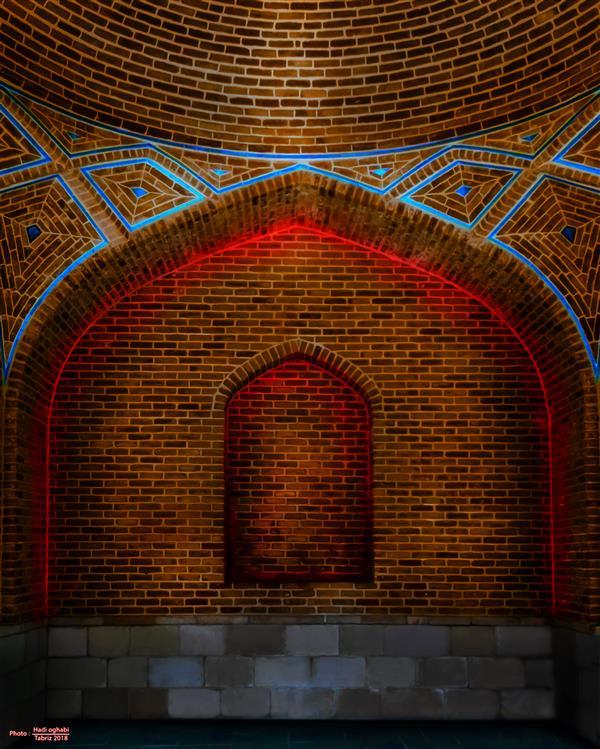 هنر عکاسی محفل عکاسی هادی عقابی مسجد کبود تبریز .... #تبریز_2018#معماری#هنر#کبود#ایرانی