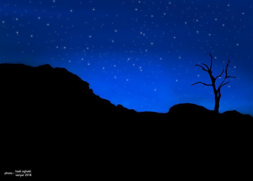 هنر عکاسی محفل عکاسی هادی عقابی عکاسی شب در کوه  #کوه#شب#ونیار#تبریز#عکاسی