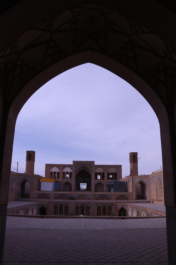 هنر عکاسی محفل عکاسی بخشی پور یکی از مساجد قدیمی استان کاشان
