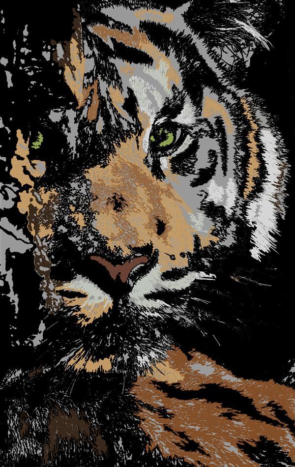 هنر نقاشی و گرافیک محفل نقاشی و گرافیک سپیده صاحبدل #sepidehsahebdelart #digitalpainting #modernpainting #modernart #drawing #painting #tiger #animals  #سپیده_صاحبدل  #ببر #تایگر #نقاشی #هنرمدرن #نقاشی_مدرن نقاشی_دیجیتال #هنردیجیتال