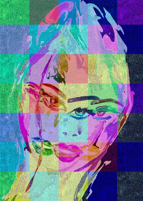 هنر نقاشی و گرافیک محفل نقاشی و گرافیک سپیده صاحبدل #چهره ها #قابل اجرا روی هر متریال در هر ابعاد دلخواه ،فرش،دیوار ،پارچه ،بوم و ...