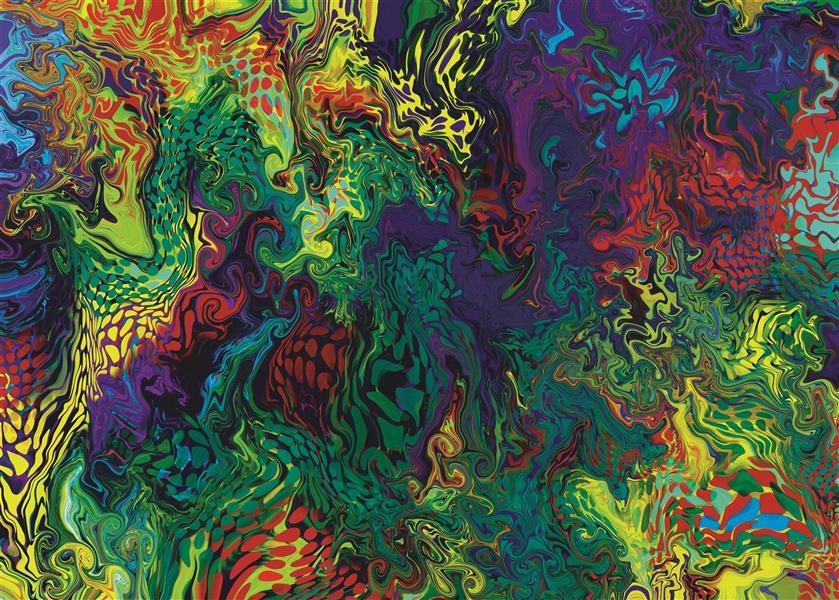 هنر نقاشی و گرافیک محفل نقاشی و گرافیک سپیده صاحبدل #فرش #۹۹ #آبستره #سپیده_صاحبدل