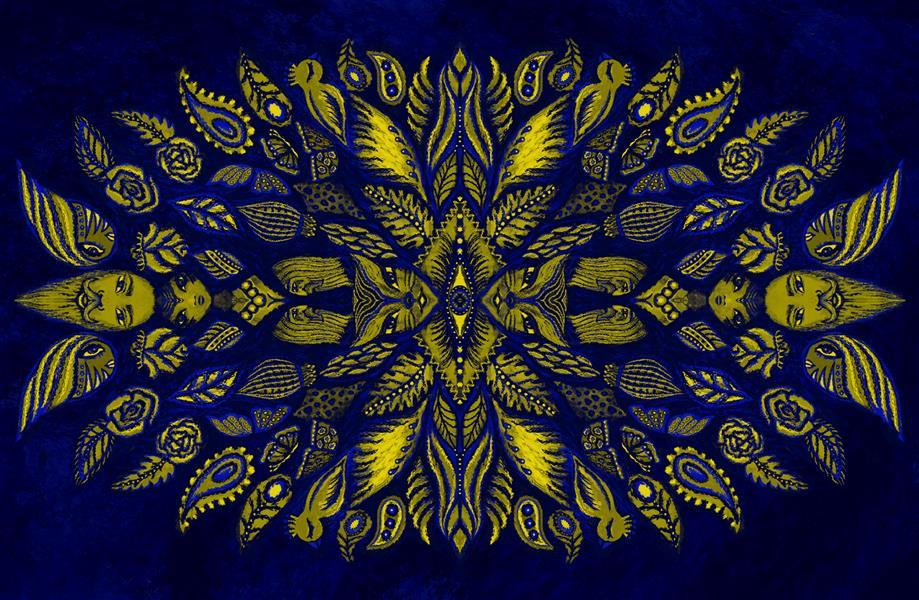 هنر نقاشی و گرافیک محفل نقاشی و گرافیک سپیده صاحبدل #نقاشی_دیجیتال#چاپ روی بوم کنواس فرش و...#۹۹#ایران زیبا#سپیده صاحبدل