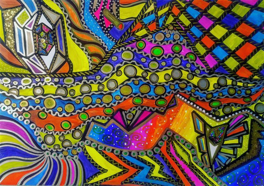 هنر نقاشی و گرافیک محفل نقاشی و گرافیک سپیده صاحبدل #sepidehsahebdelart #artwork #markerart #touchart #fluorescent #blacklight #blacklightart  #moderndesign #moderndrawing #modernart #wallpaperdesign #rugdesigner #blacklightpainting  #abstractart #moderncarpet#wallpaper #modernpainting #backdrop #rugdesigner #iran #iranianart #هنرمدرن#انتزاعی #آبسترکت #بلک_لایت #فلورسنت #نقاشی #طراحی#هنر#هنرذهنی#فرش_مدرن #فرش_ماشینی