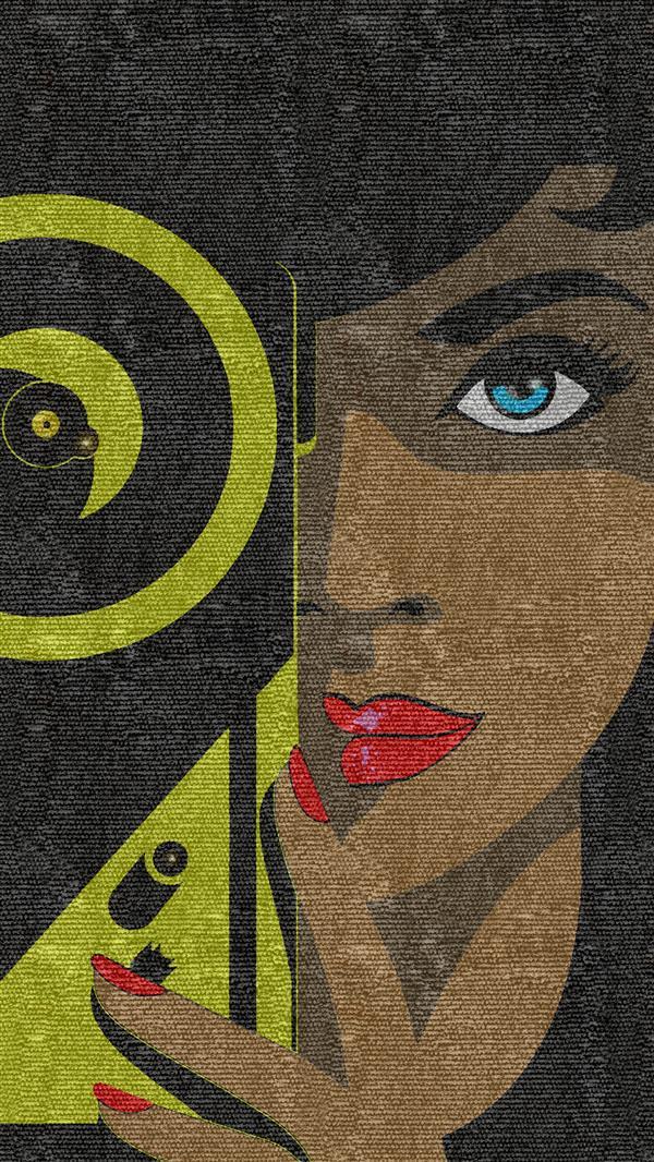 هنر نقاشی و گرافیک محفل نقاشی و گرافیک سپیده صاحبدل #نقاشی دیجیتال #چاپ روی بوم و فرش #۹۹ #دخترعکاس #سپیده_صاحبدل