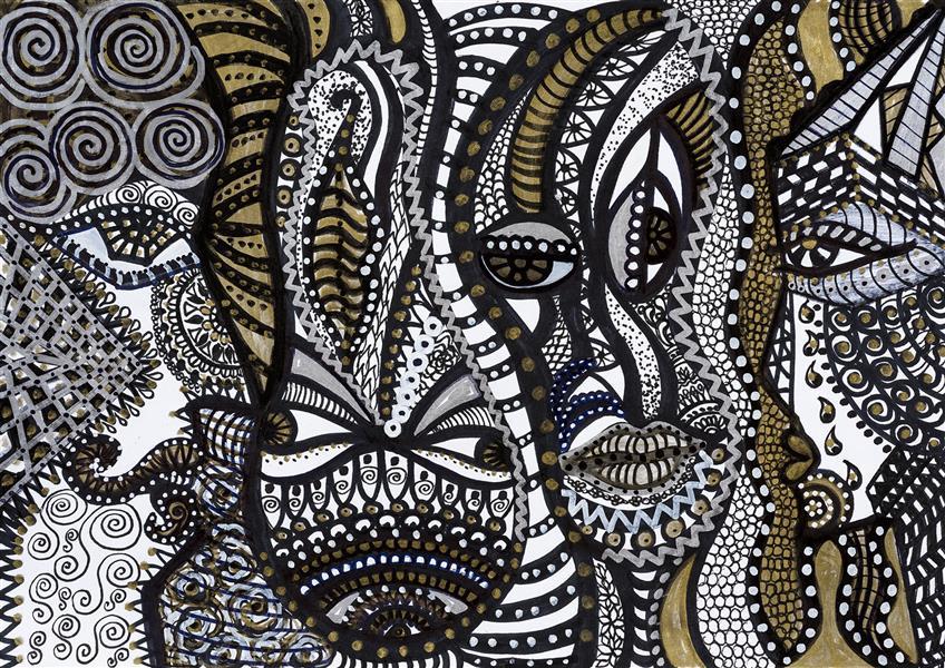 هنر نقاشی و گرافیک محفل نقاشی و گرافیک سپیده صاحبدل #وارونگی#نقاشی با راپید و ماژیک قابل چاپ روی فرش پارچه کاغذ دیواری روسری کوسن شید شاسی.... قیمت ۵۰۰۰۰۰ تومان برای چاپ ۵۰ در ۷۰ روی شاسی میباشد