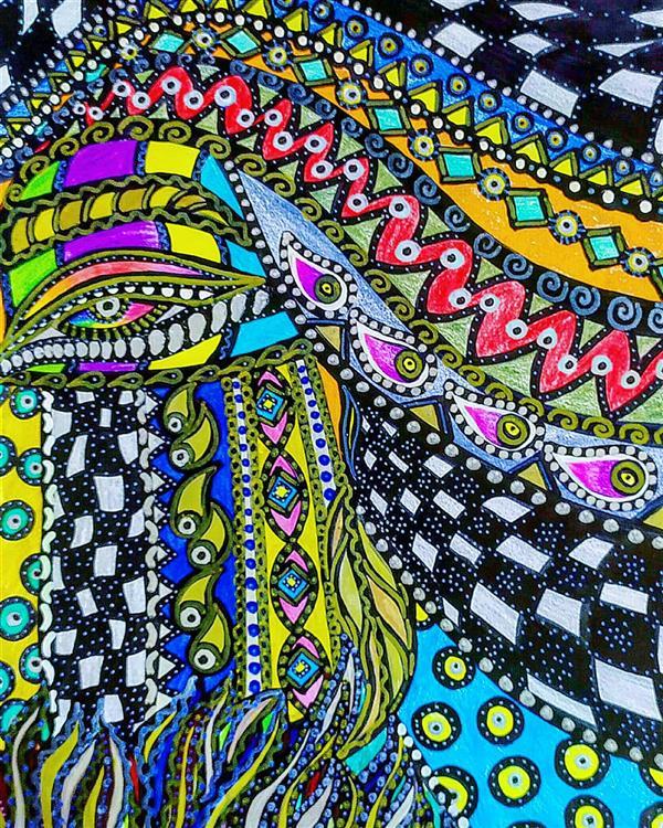 هنر نقاشی و گرافیک محفل نقاشی و گرافیک سپیده صاحبدل #خاتون  #sepidehsahebdelart #coloredpencil #coloredpencilart #girl #asiangirl #basically  #Traditionalgirl #TraditionalBeauty #ArtofReality #myartwork#iraniangirl #سپیده_صاحبدل #هنرذهنی #دخترایرانی #مدادرنگی  #دختران_ایران #دخترآبی