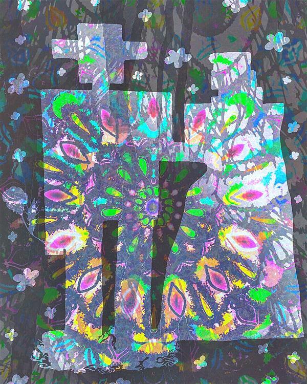 هنر نقاشی و گرافیک محفل نقاشی و گرافیک سپیده صاحبدل #sepidehsahebdelart #artwork #mixmedia #mixmediaart #tinker #joiner #couple #acrylicart #sketch #illustration #modernrug #modernart #moderncarpet #decorative #designer #digitalart #digitalpainting #هنرذهنی #هنرمدرن #وینتیج #فرش #فرش_مدرن #کلاریس #زوج #وصال #عشق #هنردیجتال
