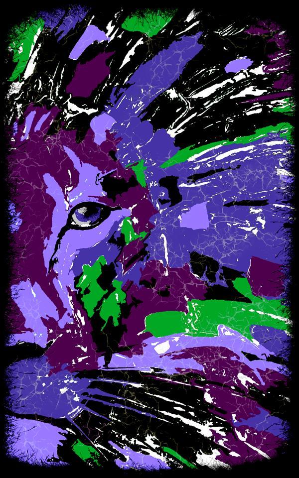 هنر نقاشی و گرافیک محفل نقاشی و گرافیک سپیده صاحبدل #sepidehsahebdel #lion #digitalart #سپیده_صاحبدل #شیرشاه #هنررمدن