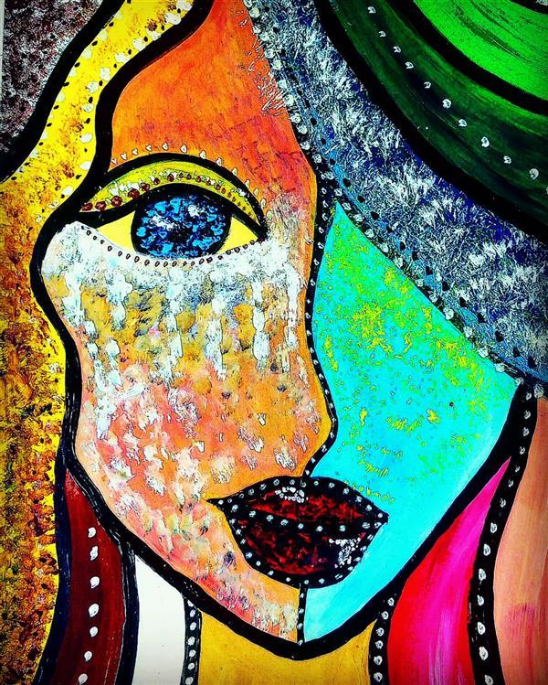 هنر نقاشی و گرافیک محفل نقاشی و گرافیک سپیده صاحبدل #sepidehsahebdelart #sadgirl #crying #cryinggirl #acrylicpainting #acrylicpaint #acrylicart #artwork #modernart #painting #drawing #سپیده_صاحبدل #دخترگریان #اشکهایش #غم #دختران_ایران #نقاشی #هننرمدرن #اکرلیک