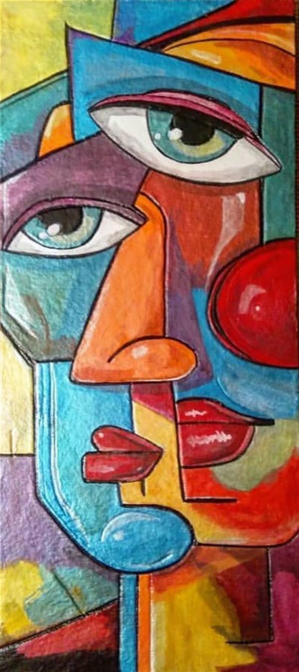هنر نقاشی و گرافیک محفل نقاشی و گرافیک هنرهلیا(helias_art) #عشق#عاشقانه/هلیا دشت آرای#helias_art/سایز 44*22/تکنیک:اکریلیک/ترکیب مواد (نقش برجسته)/پایه تابلو :تخته شاسی