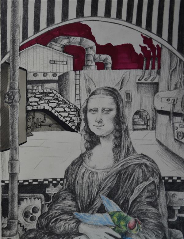 هنر نقاشی و گرافیک محفل نقاشی و گرافیک نارسیس طباطبایی طراحی با مداد 1399 Rabitaliza#