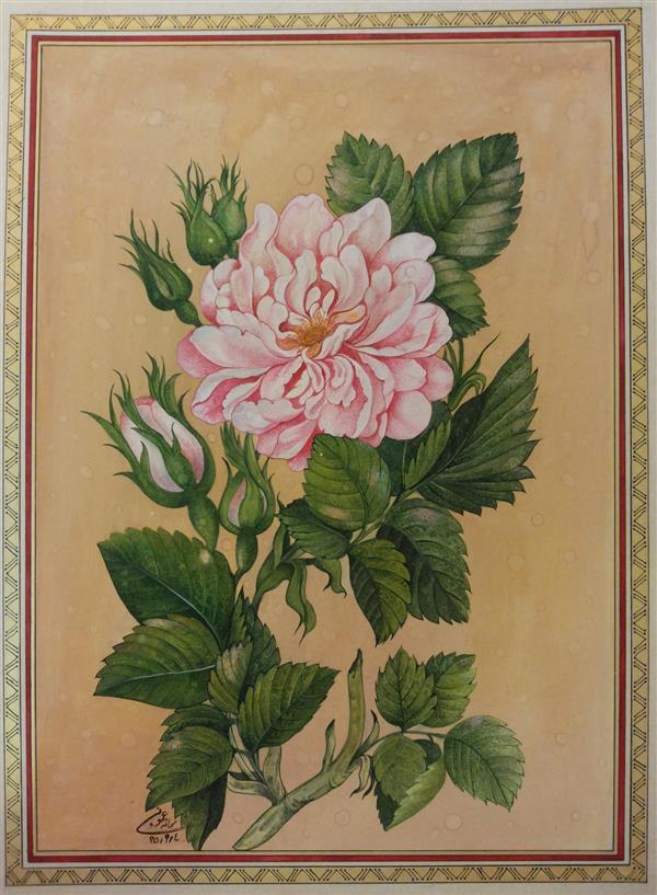 هنر نقاشی و گرافیک محفل نقاشی و گرافیک samane amoonabi #گل و مرغ 1396