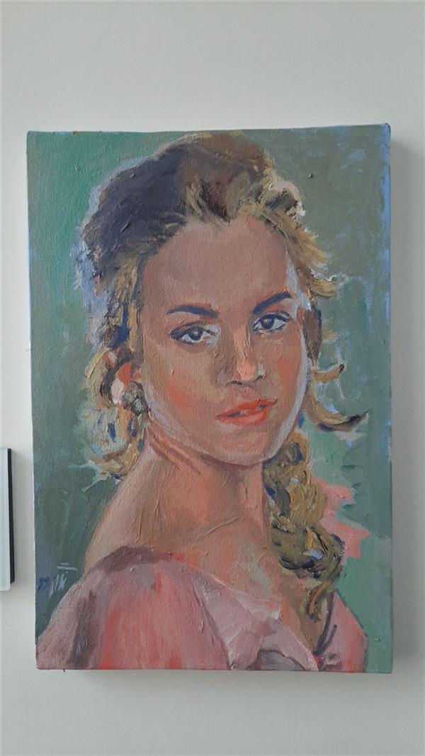 هنر نقاشی و گرافیک محفل نقاشی و گرافیک ابراهیمی #acrylic 18×28