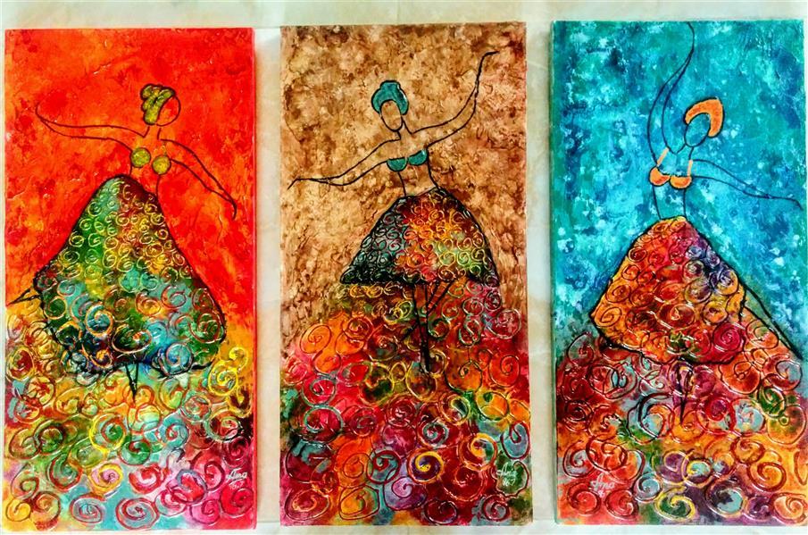 هنر نقاشی و گرافیک محفل نقاشی و گرافیک Anahita شادی #mixmedia
