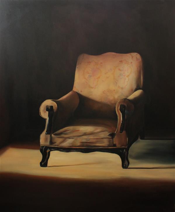 هنر نقاشی و گرافیک محفل نقاشی و گرافیک ساناز ابراهیمی سایز: 120×100 رنگ و روغن روی بوم