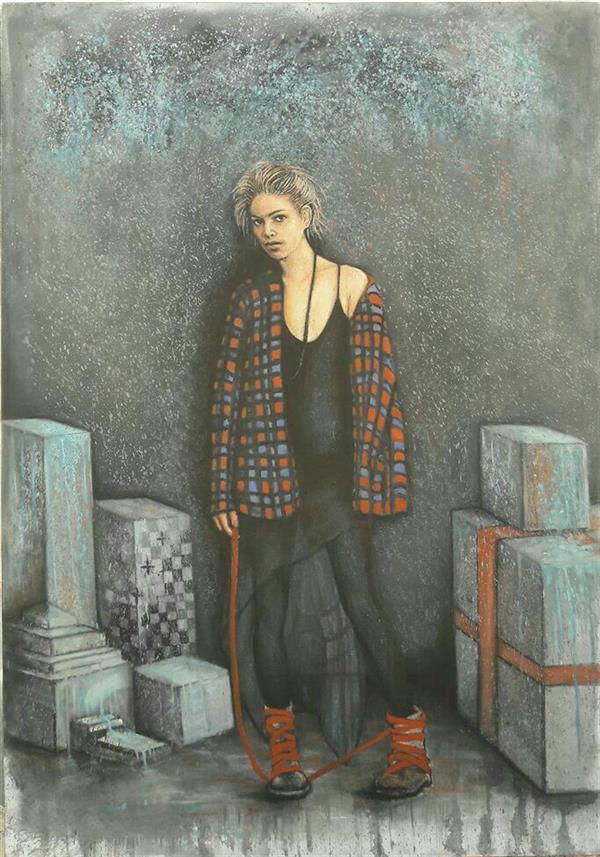هنر نقاشی و گرافیک محفل نقاشی و گرافیک Amirreza koohi Oil painting on canvas Size:100×70 2018