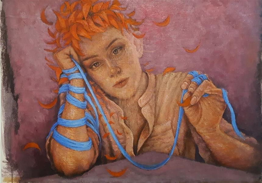 هنر نقاشی و گرافیک محفل نقاشی و گرافیک Amirreza koohi نام هنرمند: امیررضاکوهی  نام اثر: بدون عنوان تکنیک:رنگ روغن و اکرولیک متریال: بوم سال خلق اثر: ۱۳۹۹