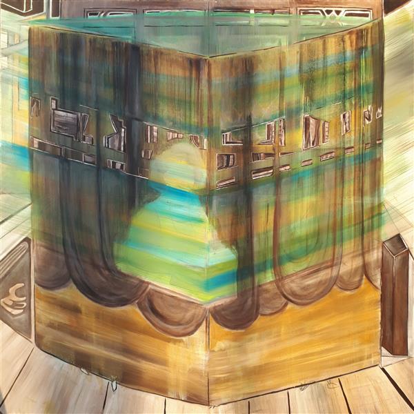 هنر نقاشی و گرافیک محفل نقاشی و گرافیک Emad Qanbari #کعبه ی #من....Mein kaaba ....#oilpainting