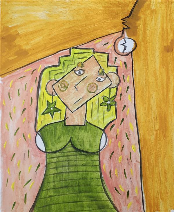 هنر نقاشی و گرافیک محفل نقاشی و گرافیک Emad Qanbari رنگ روغن روی بوم